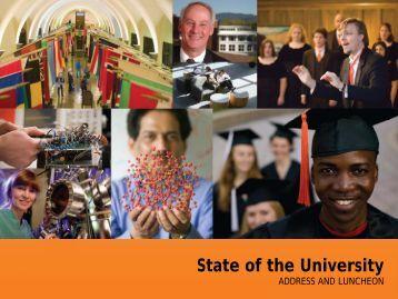 State of the University - OSU Alumni Association