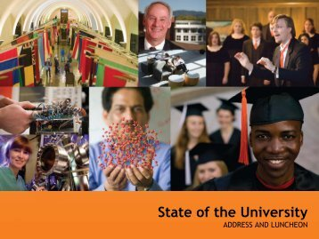 State of the University - OSU Alumni Association