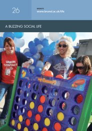 a buzzing social life