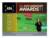 info - International Documentary Association