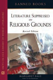 literature-supprassed-on-religious-grounds