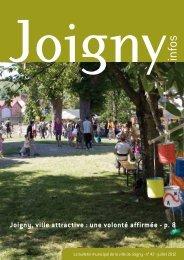 N° 42 - juillet 2012 - Joigny