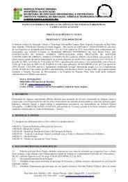 Pregão 03/2013 - Serviços continuados de limpeza, asseio e ...