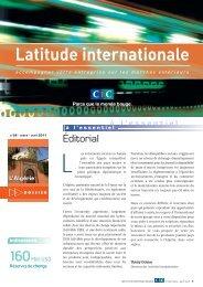 Latitude Internationale n°26 - CIC