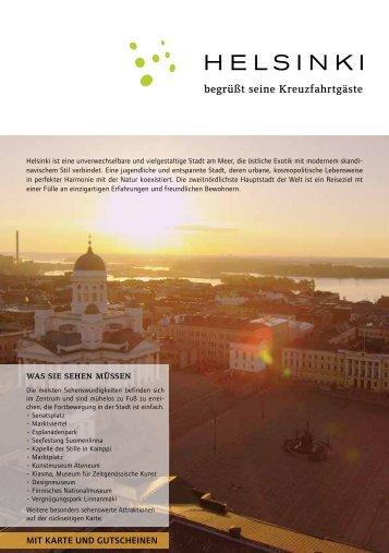 Helsinki Cruise Visitors, pdf-Format, Größe 821 kb