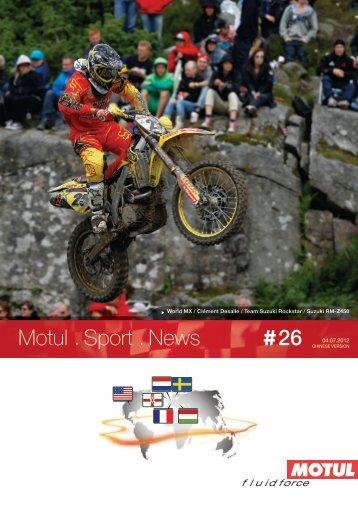 Motul . Sport . News 26