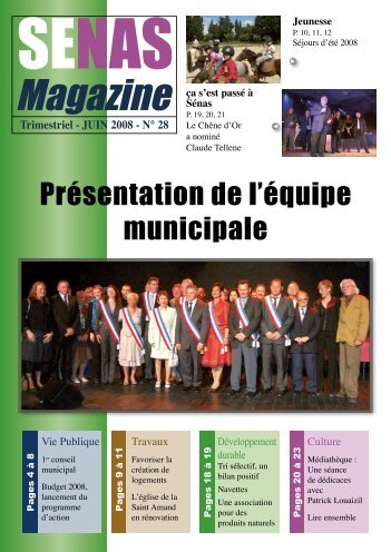 Magazine - Sénas