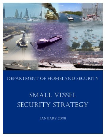 Small Vessel Security Strategy - USCG Citizen's Action Network