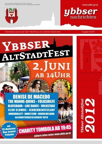 ybbser AltStadtFest - Gemeinde Ybbs