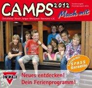 2012 Freizeitprospekt.indd - CVJM Hannover eV