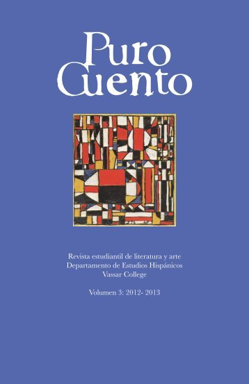 Puro Cuento - Hispanic Studies - Vassar College