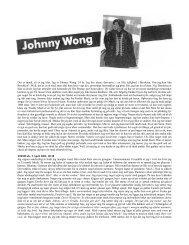 Det er tændt, så er jeg klar. Jeg er Johnny Wong. 24 ... - Projekt R'lyeh