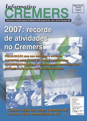 Dezembro 2007 - Cremers