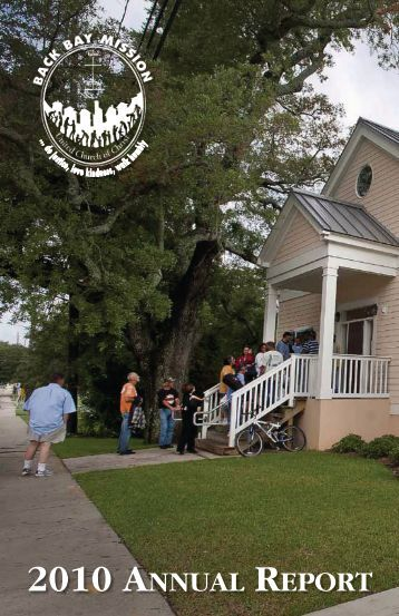 2010 ANNUAL REPORT - Back Bay Mission