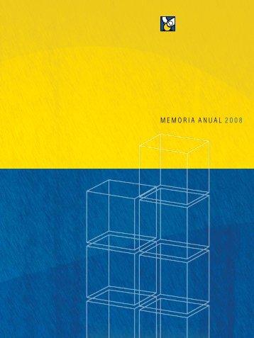 MEMORIA ANUAL 2008 - Asociación Popular de Ahorros y Préstamos