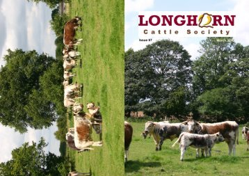 Newsletter No. 67 - Longhorn Cattle Society