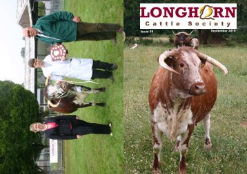 Newsletter No. 69 - Longhorn Cattle Society
