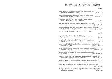 Beeston catalogue - Longhorn Cattle Society