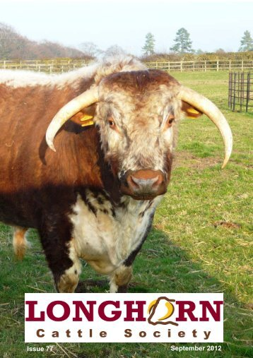 News 77 cover - Longhorn Cattle Society