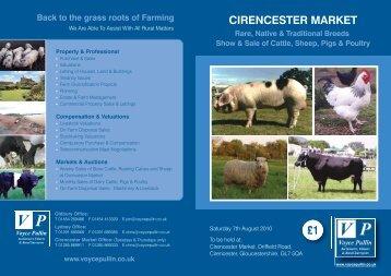 cirencester market - Longhorn Cattle Society