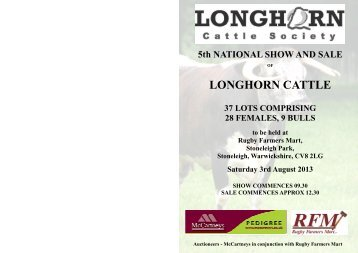 Click - Longhorn Cattle Society