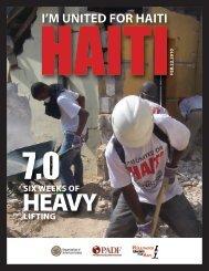 I'M UNITED FOR HAITI - Asociación Popular de Ahorros y Préstamos