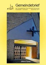 Dezember 2011: ca. 2,6 MB - Ev. Paul-Gerhardt-Gemeinde ...