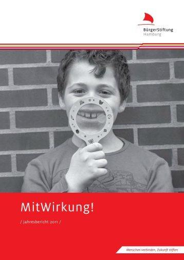 Jahresbericht 2011 - BürgerStiftung Hamburg
