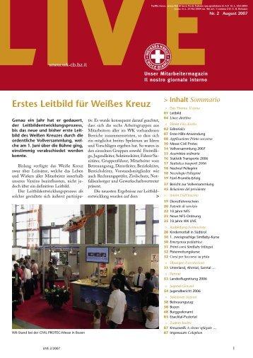 Direkt Filo diretto - Weißes Kreuz
