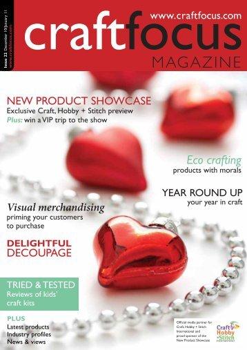 PDF: Low-resolution (11Mb) - Craft Focus Magazine
