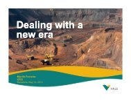 Bank of America Merrill Lynch Global Metals, Mining ... - Vale.com
