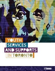 Youth Guide-Youth Services In Toronto
