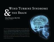 Brain - Wind Turbine Syndrome