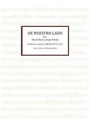 DE NUESTRO LADOx - Iberescena