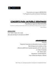 CONCIERTO PARA UN PUEBLO DESAFINADO - Iberescena
