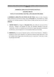 Edital Nº 27 de 2010 - Resultado Final Procurador - Assembleia ...