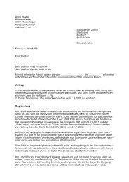 Musterrekurs in pdf - Über die AGGP