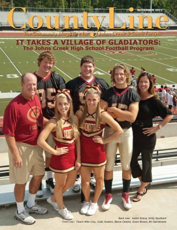 IT TAKES A VILLAGE OF GLADIATORS: - County Line Magazine