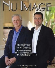 Nu Image Magazine - Town & Country Plastic Surgery