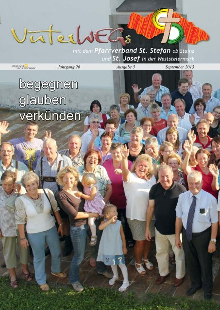 begegnen glauben verkünden - Pfarre St. Stefan ob Stainz - Pfarre ...