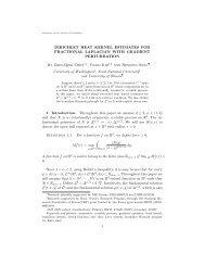 Dirichlet heat kernel estimates for fractional Laplacian with gradient ...