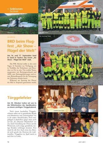 """BRD beim Flug- fest """"Air Show – Flügel der Welt ... - Weißes Kreuz"""