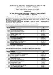 cp n.º 02/2012 - Prefeitura de São Bernardo do Campo