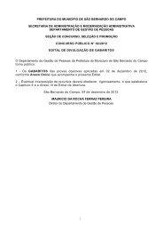 edital de divulgação de gabaritos cp n.º 02/2012 - Prefeitura de São ...