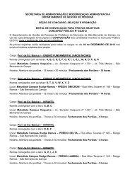 edital de convocação para provas objetivas cp n.º 02/2012