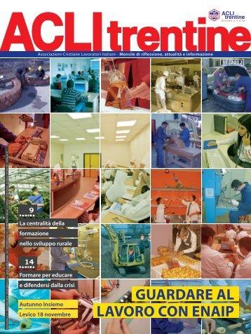 Novembre 2012 - ACLI Trentine
