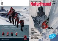 Magazin für Freizeit und Umwelt Eisklettern ... - Naturfreunde