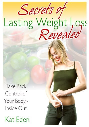 Secrets of Lasting Weight Loss Revealed - Your ... - Woman Incredible