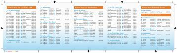Sailing Schedule - Dockwise Yacht Transport