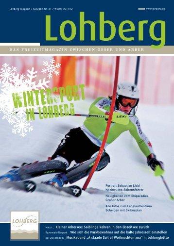 das freizeitmagazin zwischen osser und arber - Gemeinde Lohberg